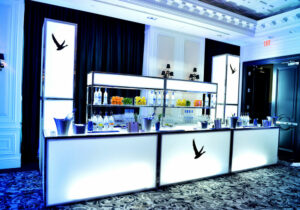glowing bar rentals
