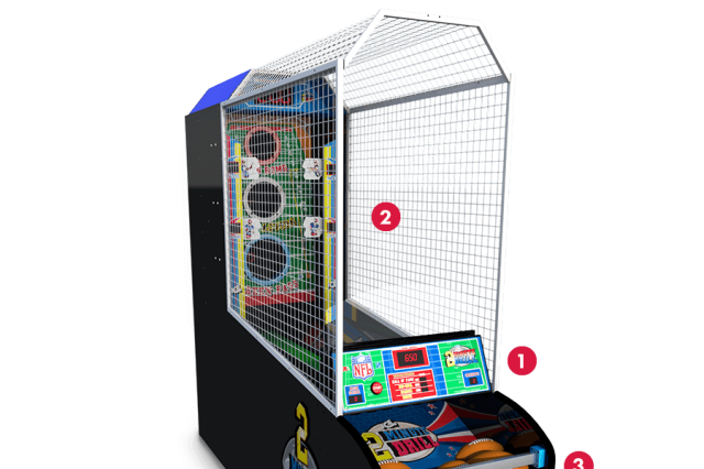 nfl 2 minute drill arcade game