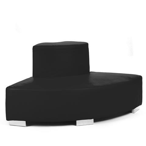 black circle sofa
