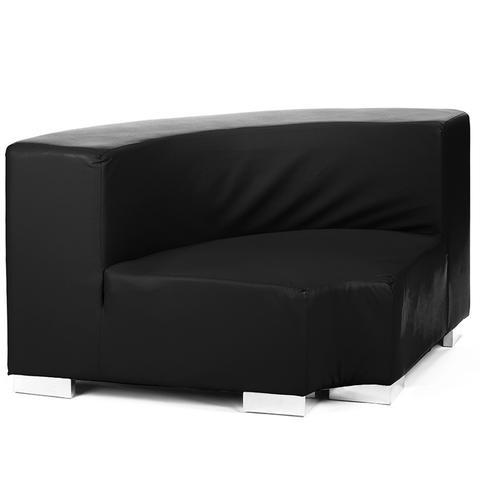 black round sofa rental