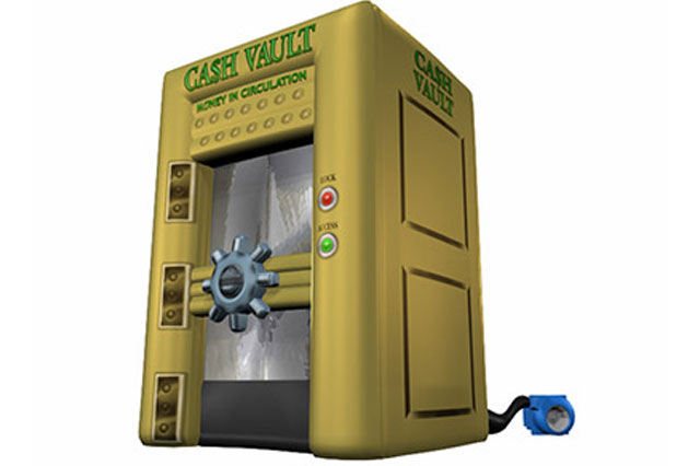 Inflatable Cash Cube Rental
