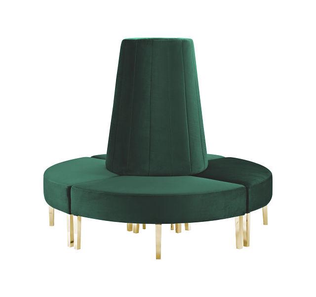 green circle sofa