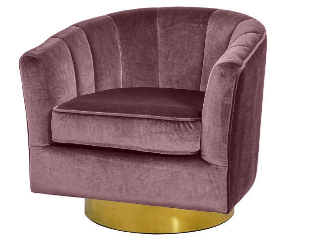 pink club chair rental