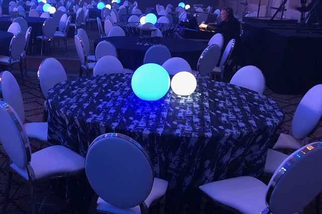 glowing orb ball rentals