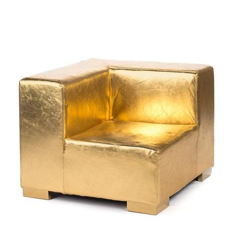 gold couch rental