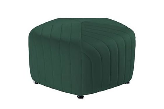 green round ottomans