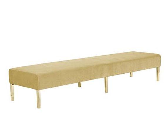 gold sofa ottoman