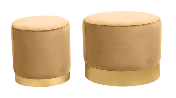 gold stools
