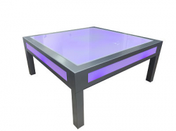 glowing coffee tables