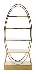 gold bar back shelf