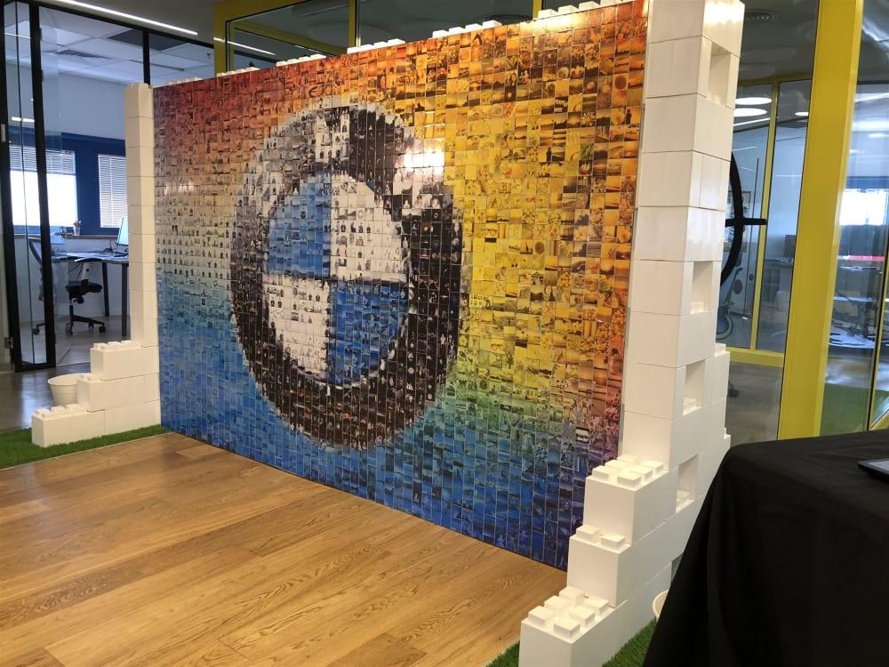 photo mosaic wall rental az