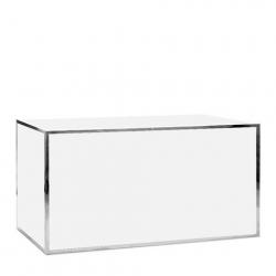 silver frame bar rental