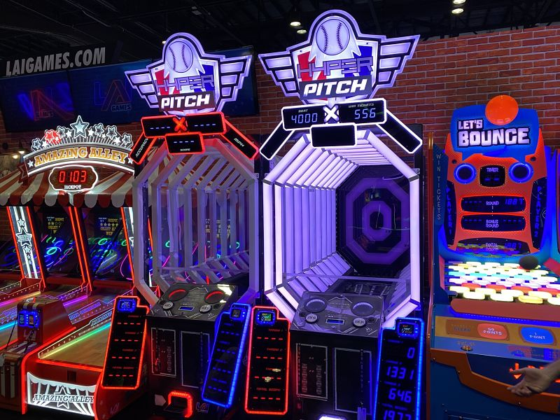 baseball arcade game rental
