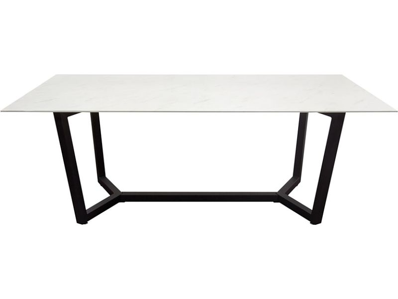 black frame coffee table rental