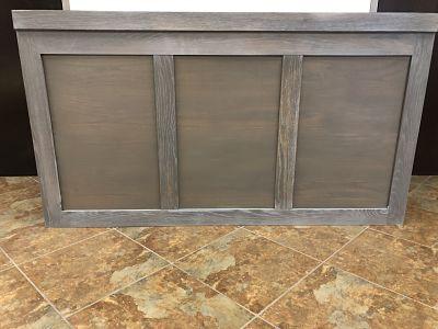 gray wash wood bar rental