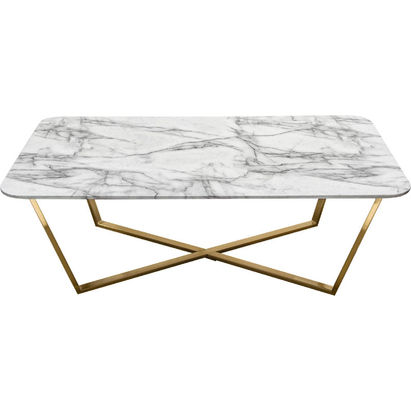 marble top coffee table rental