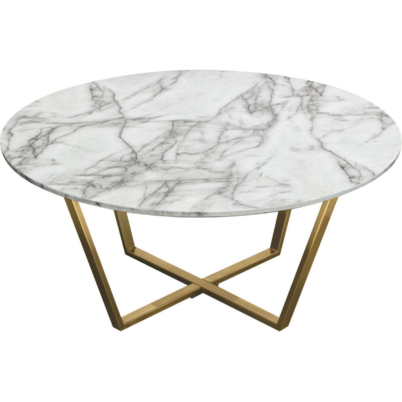 vida coffee table round