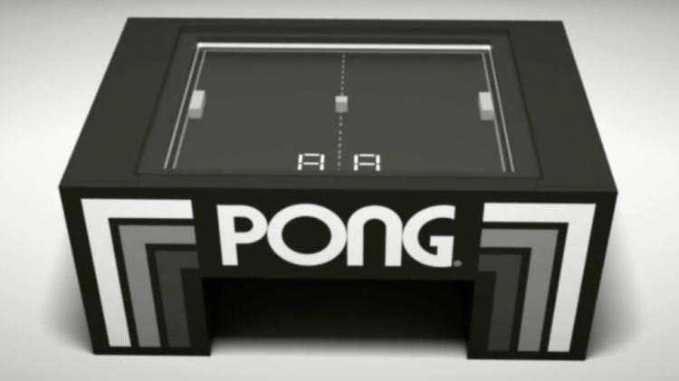 Pong Coffee Table Arcade Game