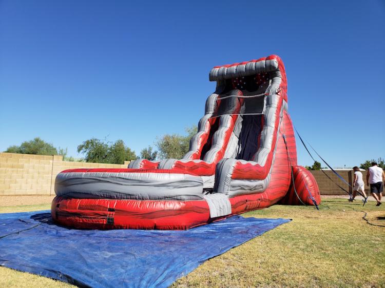 22ft water slide rental