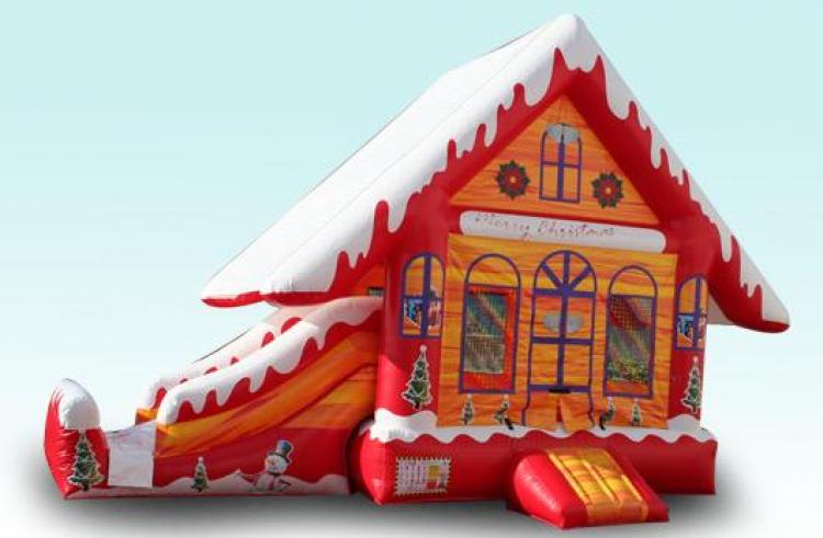 Christmas inflatable combo