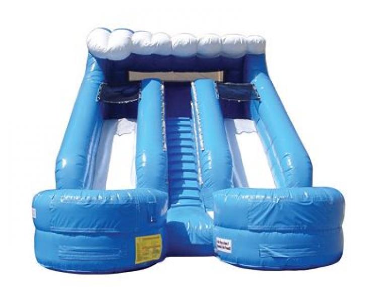 15' Double Splash Slide