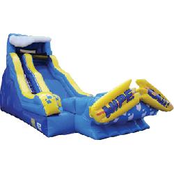 wipeout water slides