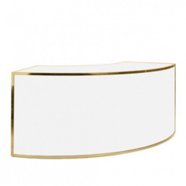 Bar - 1/4 Curve - Gold Frame