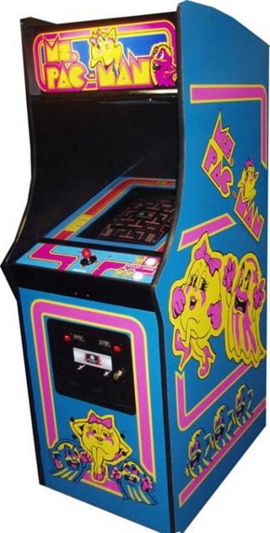 Ms Pacman Arcade Game