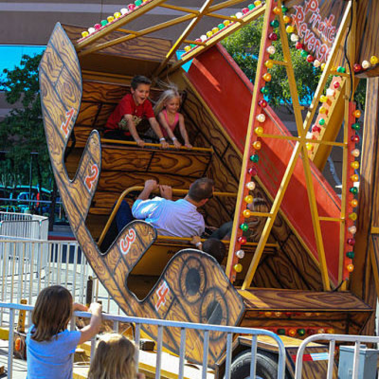 pirate ship ride rental