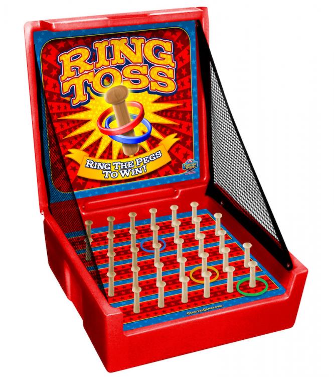 Ring toss carnival game rental