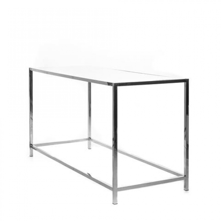 Communal Table - Rivington - Silver Frame