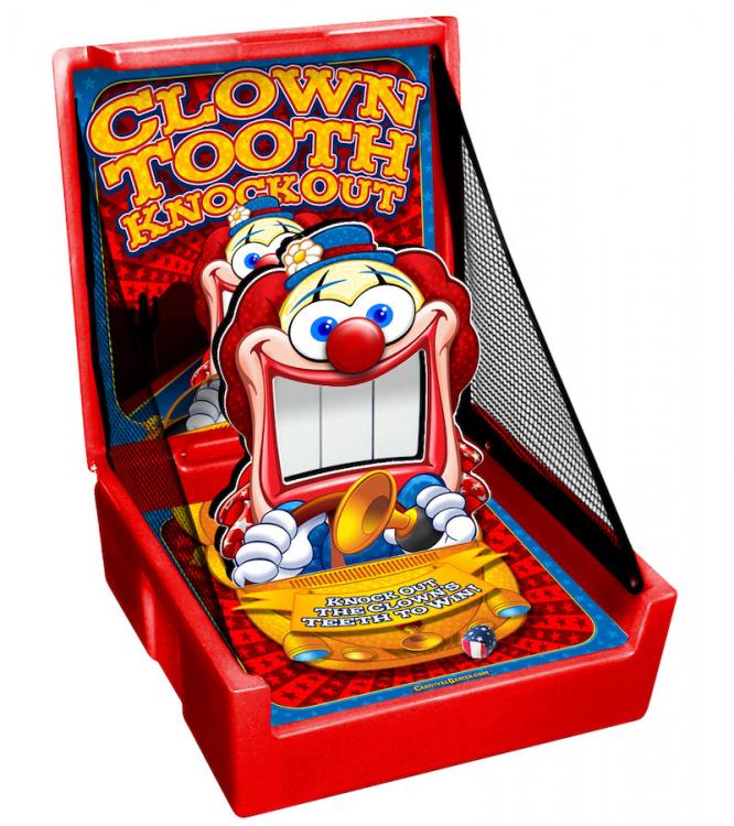knock down carnival game rental