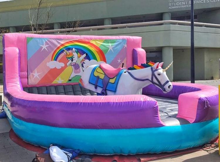 mechanical unicorn ride