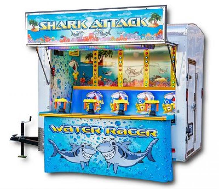 water gun carnival game