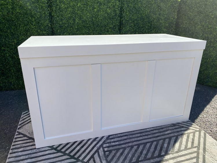 Bar - Brooks 6ft Wood - White