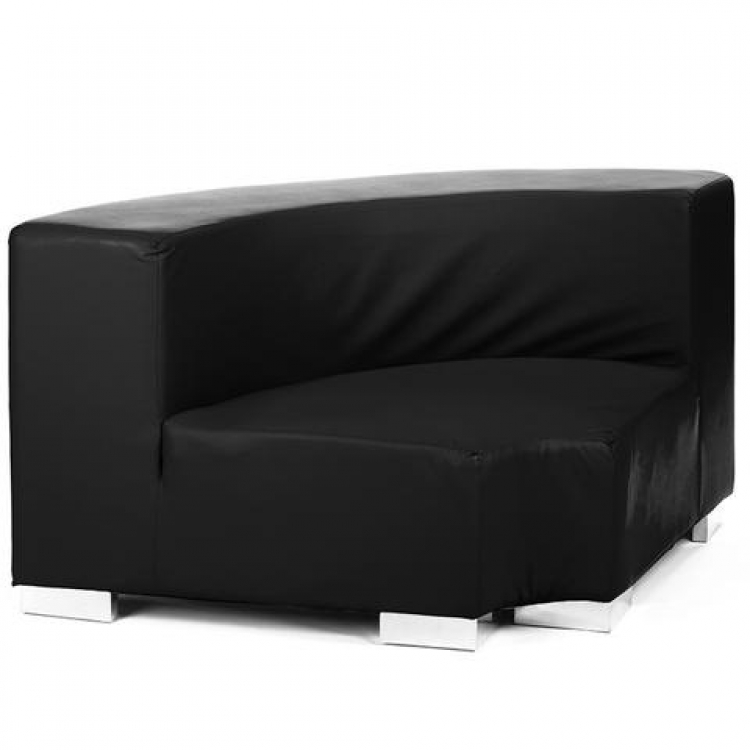 Mondrian - Inside Round - Black