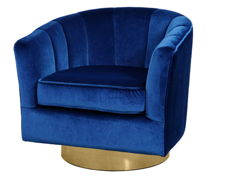 Club Chair - Cassidy - Sapphire