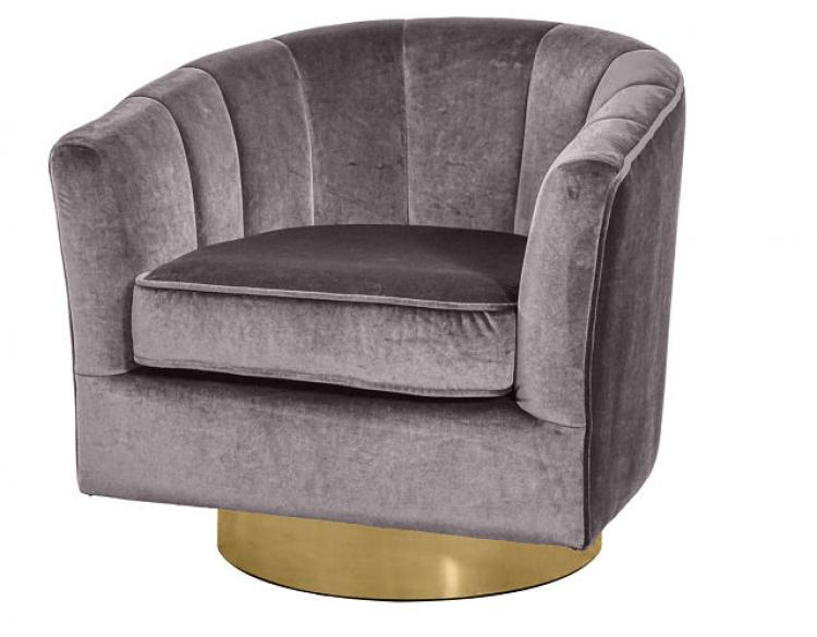 Club Chair - Cassidy - Graphite