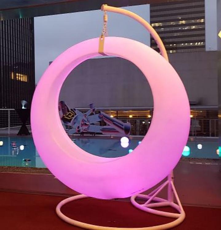 Glowing LED Swing - One Swing