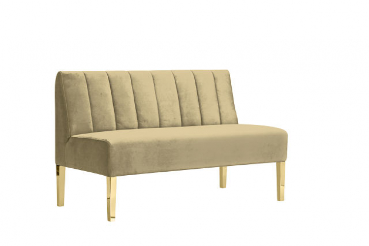 Kincaid Loveseat - 4ft Length - Champagne