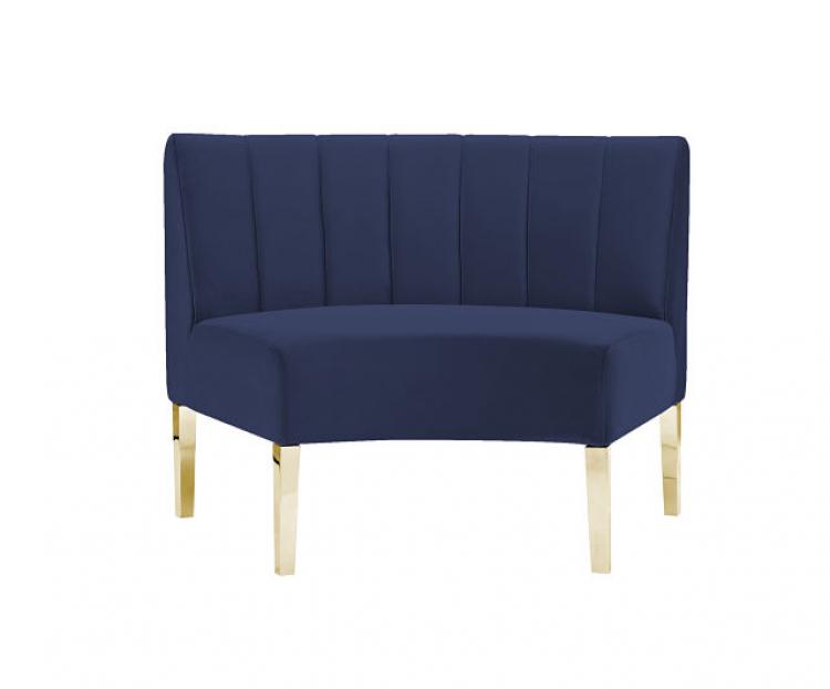 Kincaid Sofa - Inside Round - Sapphire