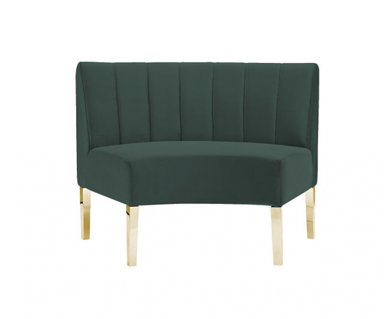 Kincaid Sofa - Inside Round - Emerald