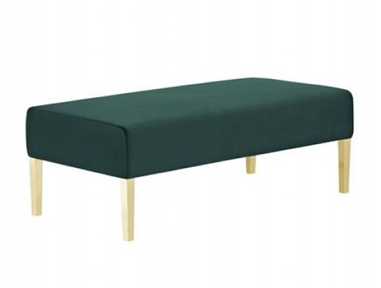 Kincaid Ottoman - 4ft Length - Emerald