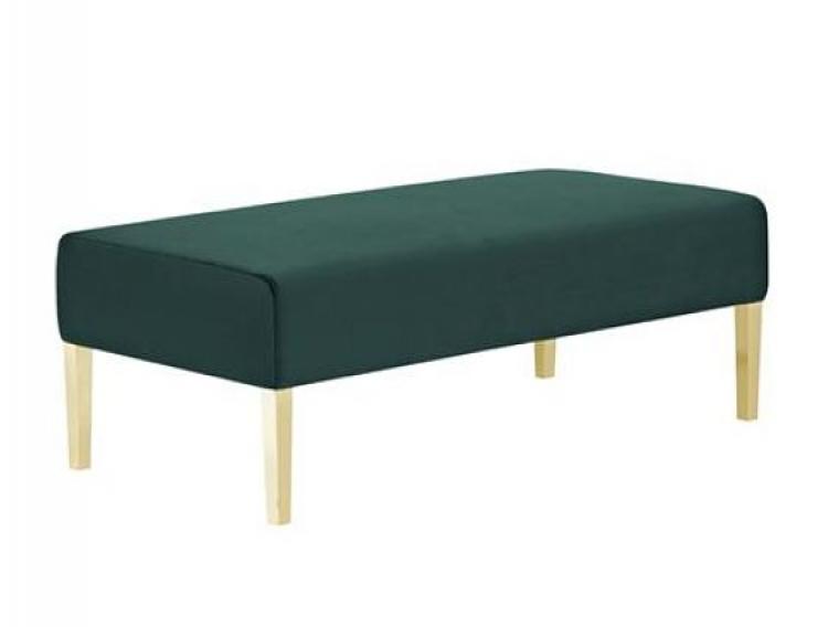 Kincaid Ottoman - 4ft Length - Emerald