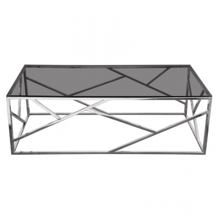 Coffee Table - Nest - Silver Frame