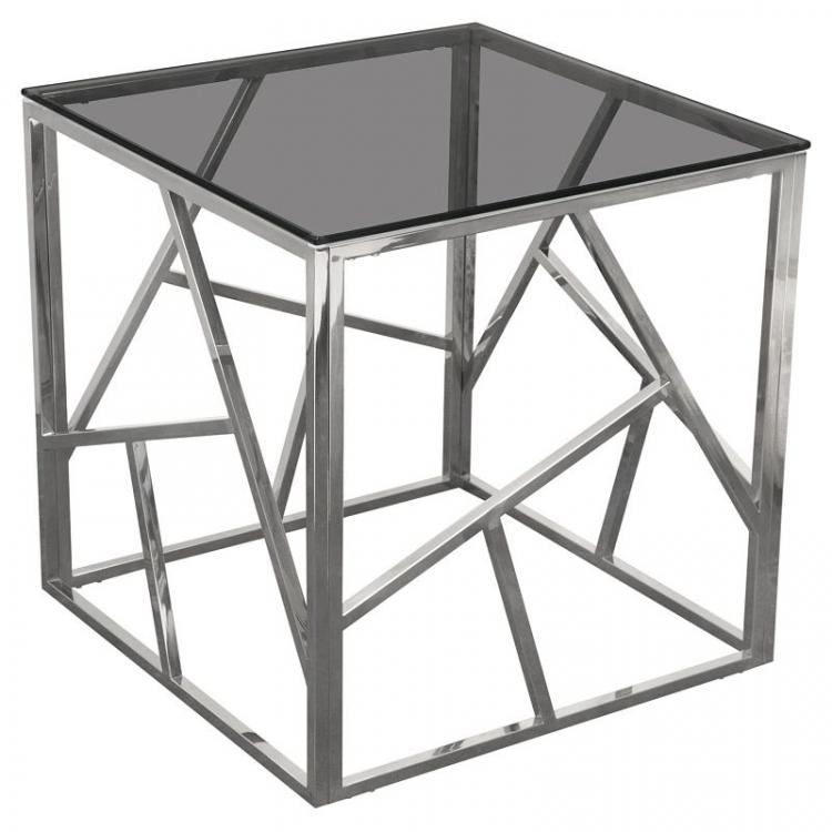 Side Table - Nest - Silver Frame