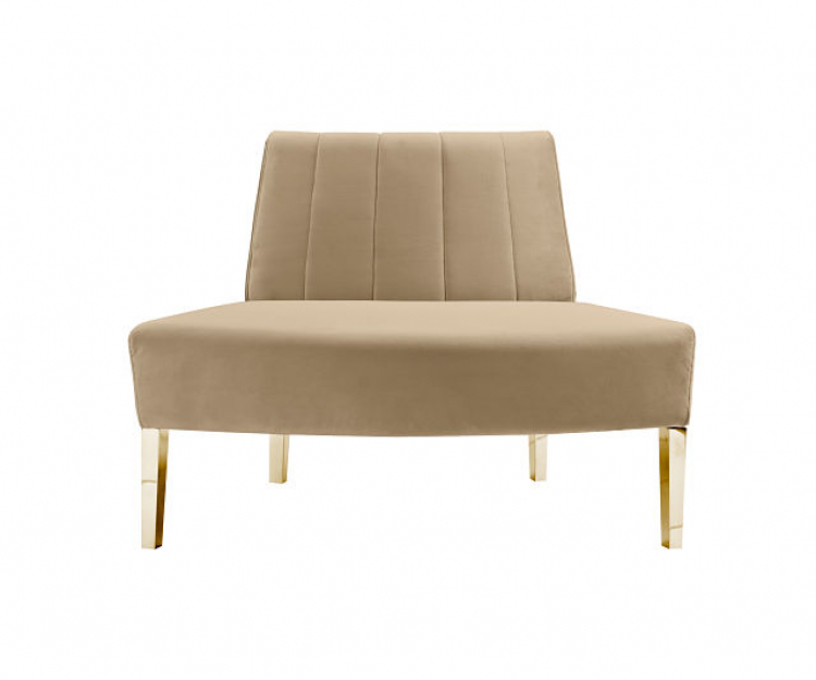 Kincaid Sofa - Outside Round - Champagne