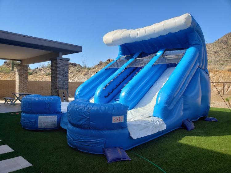rent water slides