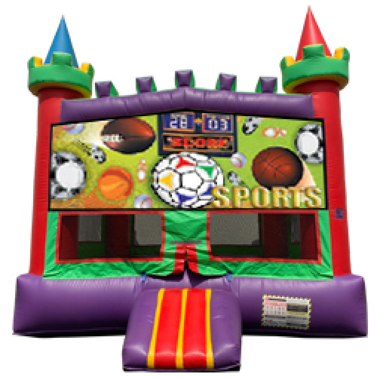 Sports Panel Bounce House