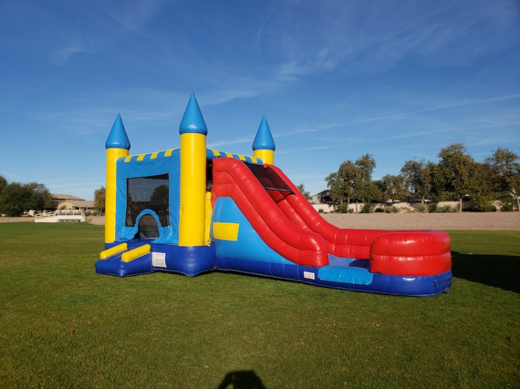 inflatable castle combos